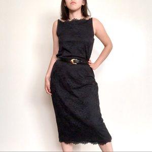 Isaac Mizrahi for Target Lace Midi Dress